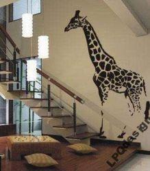 Zobrazit detail - Samolepka na zeď žirafa Mega