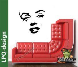 Samolepka na stěnu Marilyn