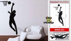 Samolepka na stěnu basketball_BONUS