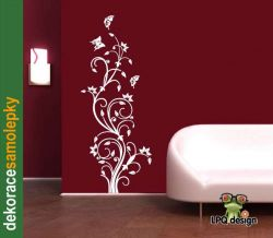 Samolepky na zeď ZVONKY_FLOWERS