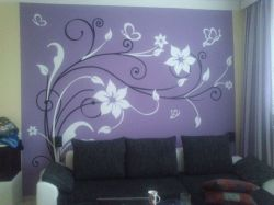 tapeta na zeď ART květy velké LPQdesign