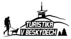 Samolepka Turistika v Beskydy vzor 5