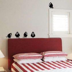 Samolepky dekorace na zeď kosáci rošťáci 5 KS