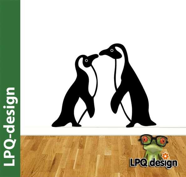 samolepka tučňáci