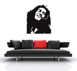 Samolepka na stěnu  Bob Marley 2