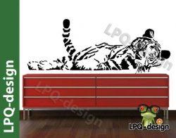 samolepka tygr