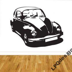 Samolepka na zeď VW Brouk