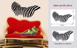 samolepka zebra vzor