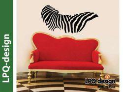 samolepka vzor zebra