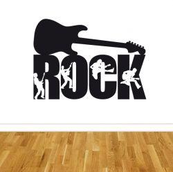 Samolepka na zeď ROCK