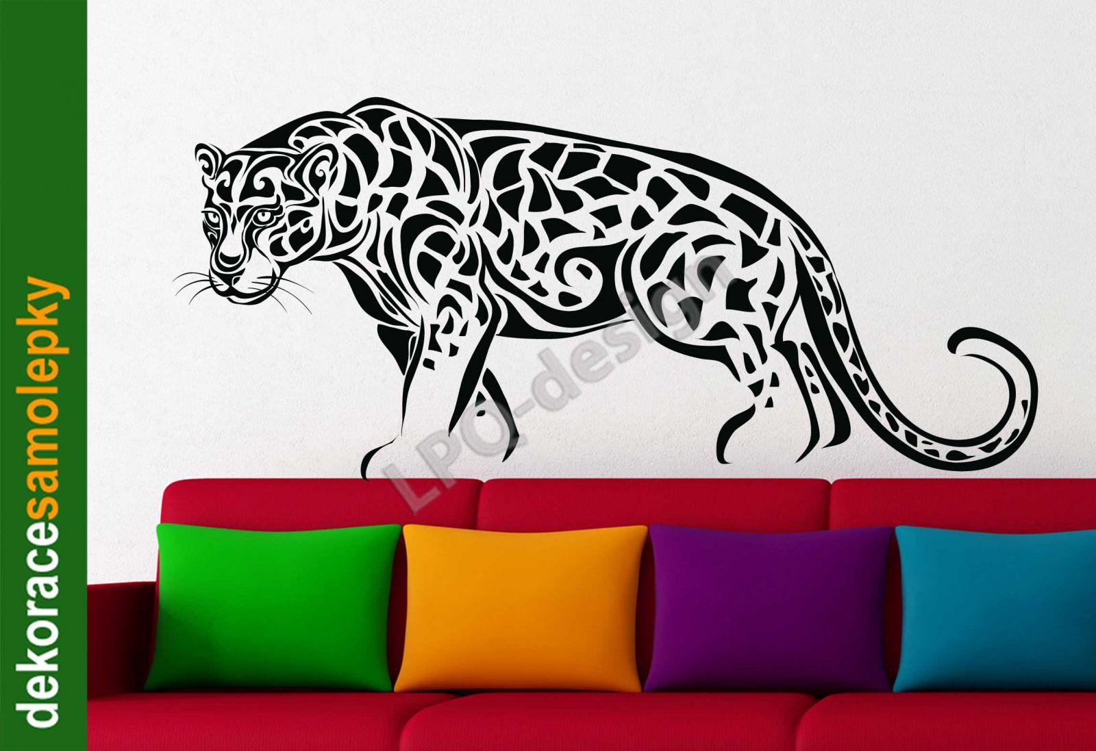 Samolepka na zeď leopard