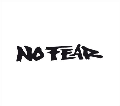 Nálepka No fear 01