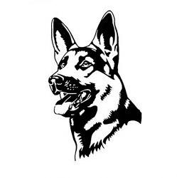 Samolepka pes vlčák