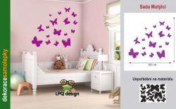 samolepka motýl