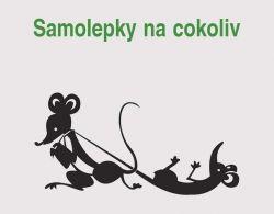 samolepka myšky