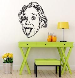 Samolepka na zeď Einstein