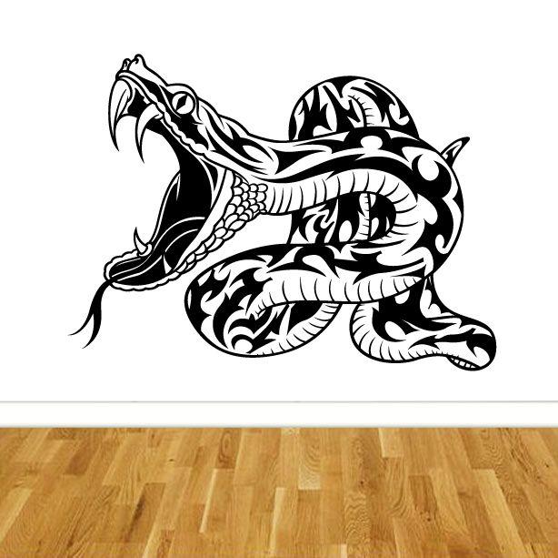 samolepka na zeď had