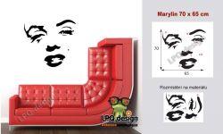 samolepka na zeď Marilyn