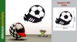samolepka fotbalový míč