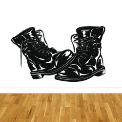 Samolepící dekorace boty KANADY