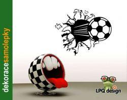Samolepka na zeď fotbalový míč, balón
