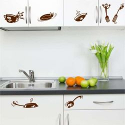 Samolepky na zeď do kuchyně