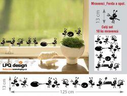 samolepka mraveneček