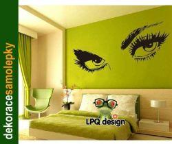 Dekorace na zeď - OČI pohled